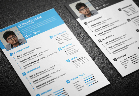 100 Best Free Business Cards Resume Templates And Other Corporate