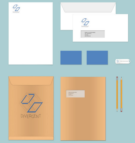 vector brand identity