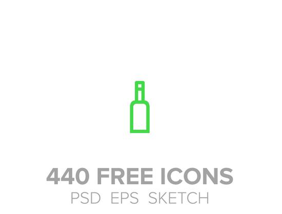 440 free icons
