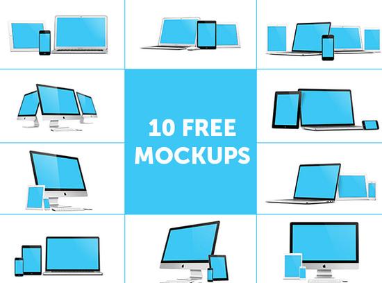 10 free mockups