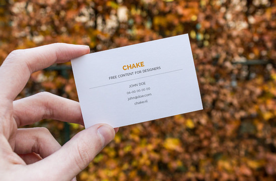 5 free business cards