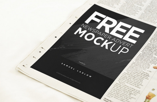 newspaper mockuo