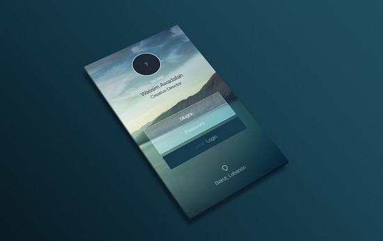 perspective app design