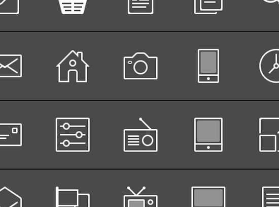 contour icons