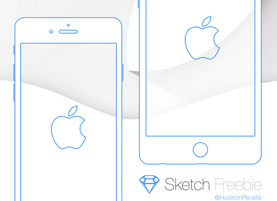 iphone6 wireframe