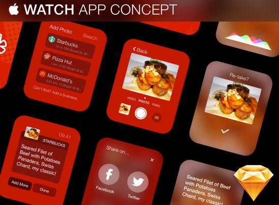 watch app concept