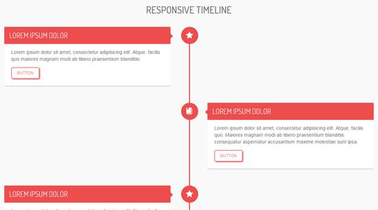 responsive timeline by bruno