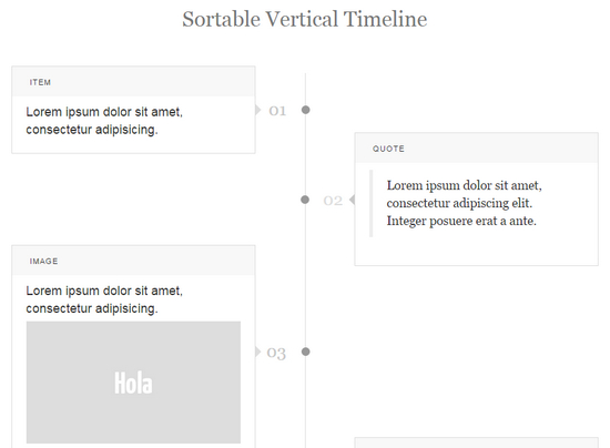 15 Code Snippets for Timelines | The JotForm Blog
