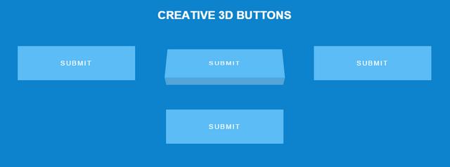 creative 3d buttons