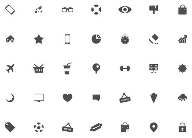 boldo icon font