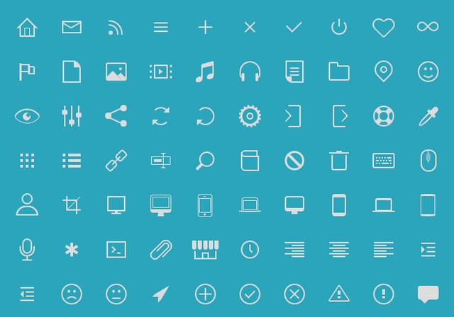 icono set