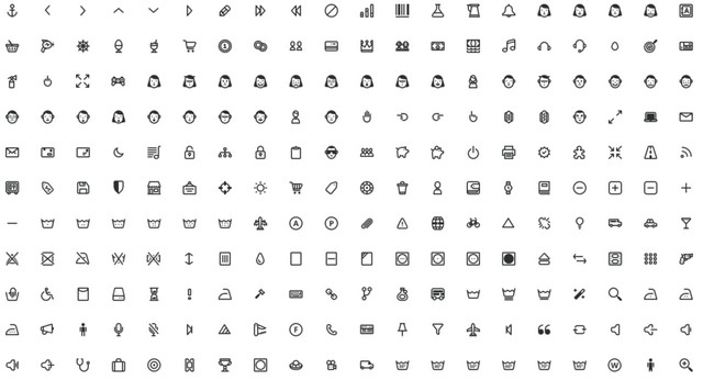prestashop icon font