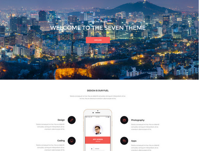 seven - creative portfolio