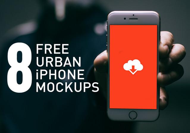 8 urban mockups