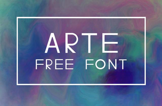 arte font