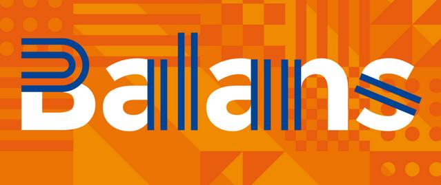 balans - typeface