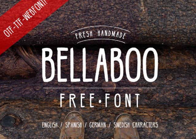 bellaboo font