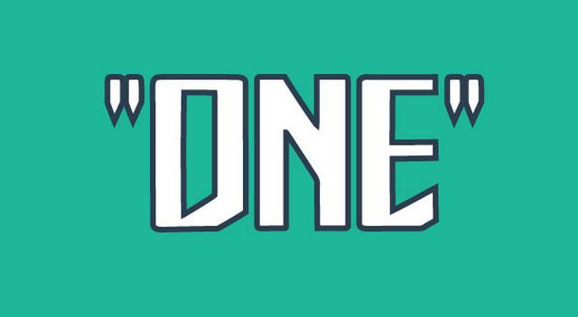 bold geometric font