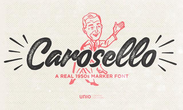 carosello typeface