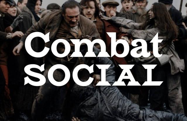 combat social font