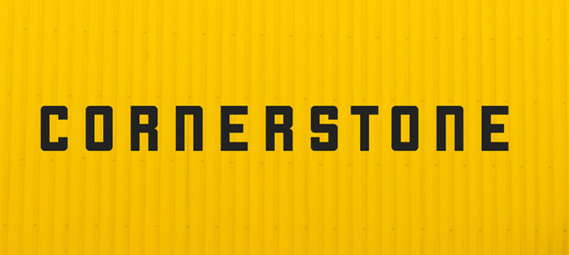 cornerstone - font