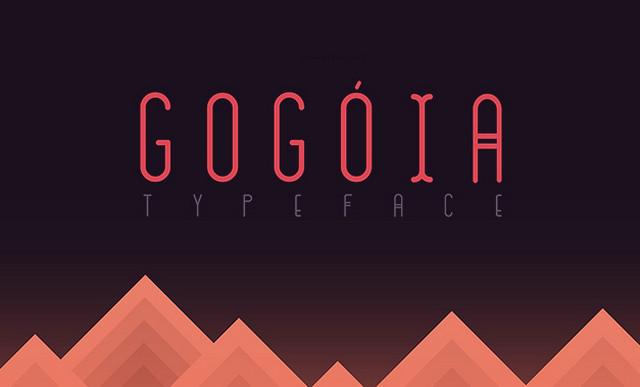 gogoia typeface