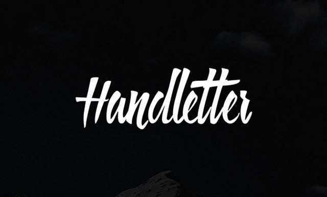 handletter typeface