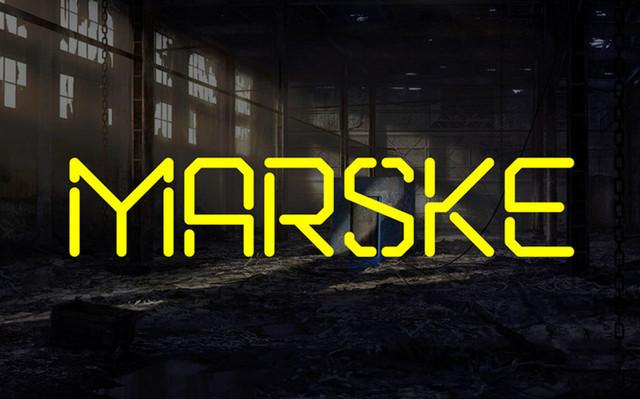 marske font