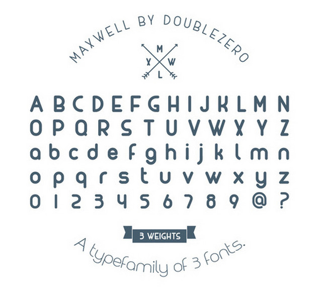 maxwell typeface