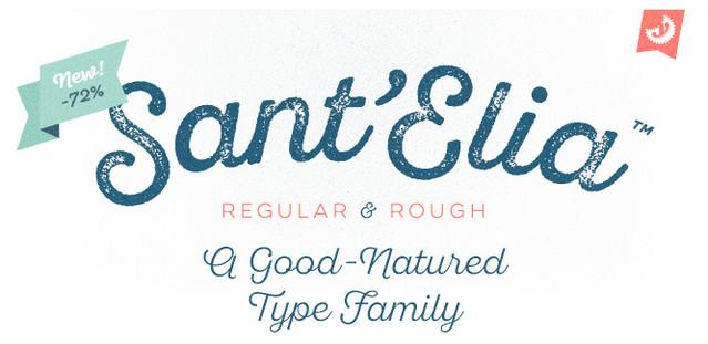 santelia font