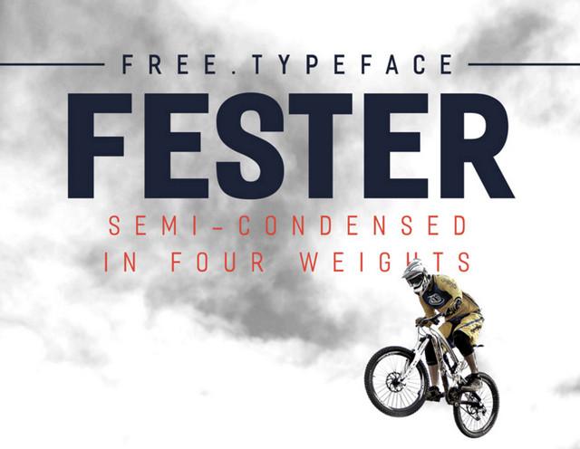 semi-condensend typeface
