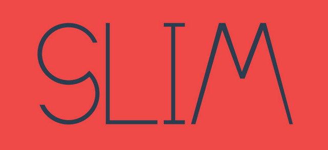 slim typeface 2