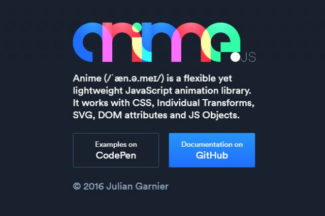 Anime js Makes Animating CSS and SVG Easy | The JotForm Blog