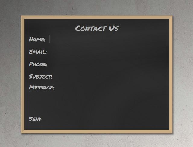 blackboard form