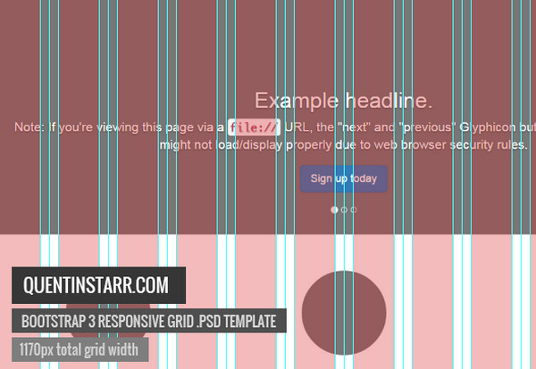 10 Free Bootstrap PSD Grids for Excellent Webdesign | The JotForm Blog
