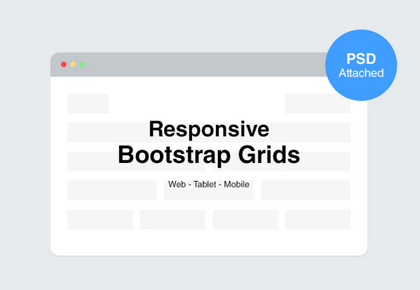 10 Free Bootstrap PSD Grids for Excellent Webdesign | The