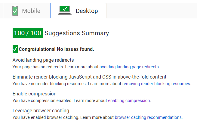The Removed Error of the Google Analytics JavaScript.