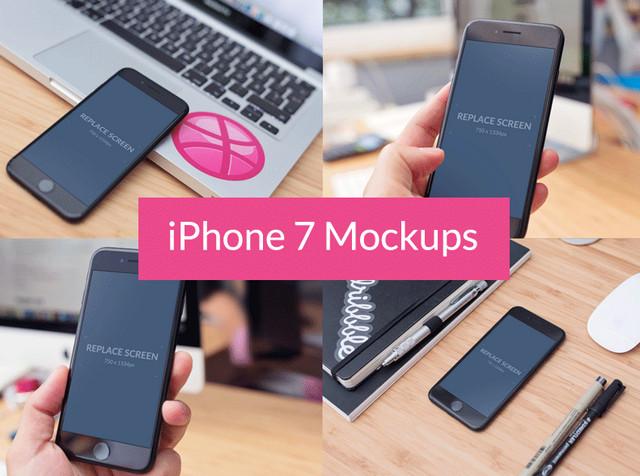 iphone7 mockups