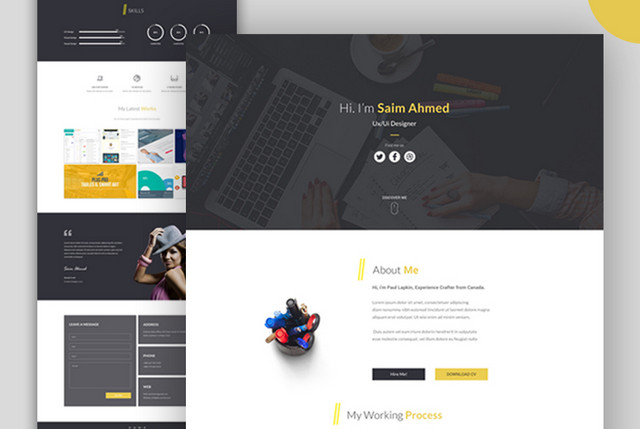 100 Free Psd Website Templates The Jotform Blog