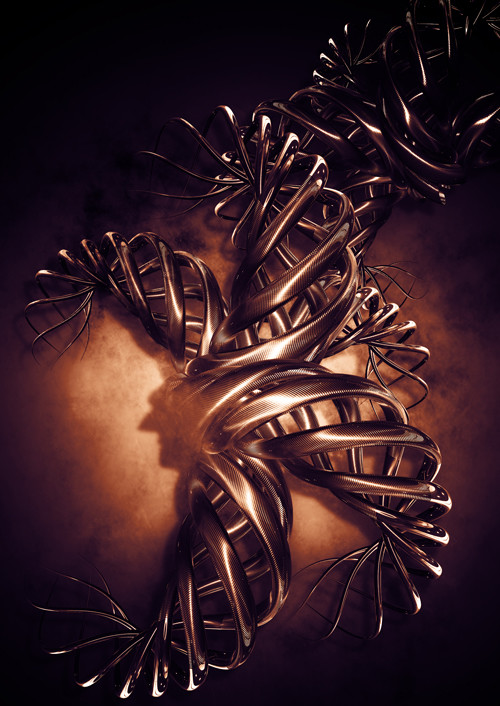 Cinema 4d Abstract Art