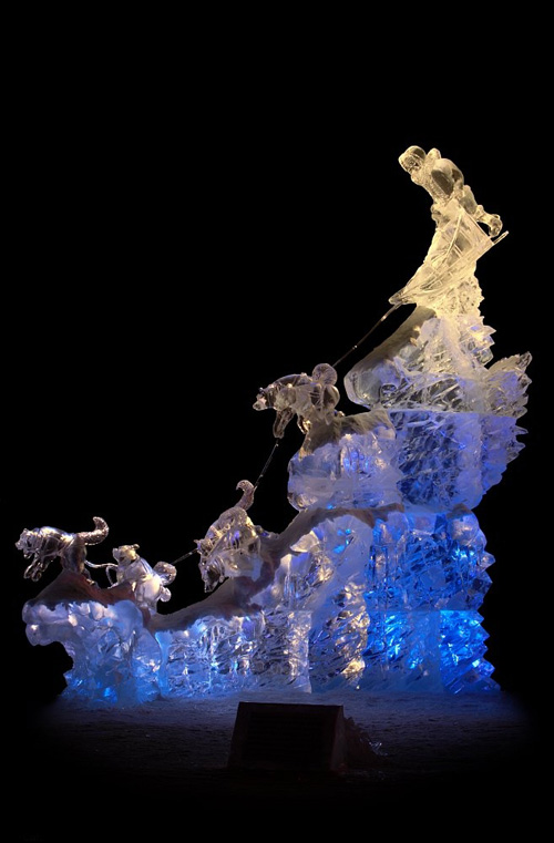 Ice Art World Championships: baltoscharge