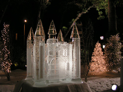 csi new york - ice castle