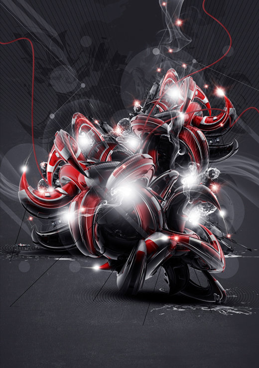 55 Amazing 3d Abstract Artworks Amp Wallpapers The Jotform Blog