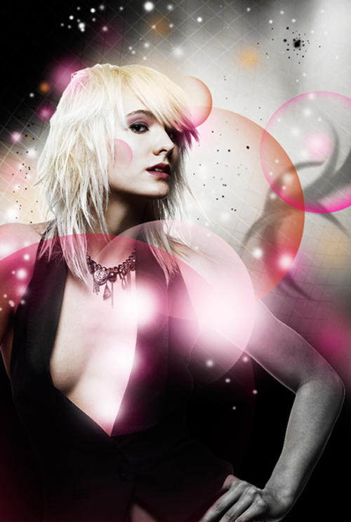 How to create Glowing Fashion Photo Manipulation