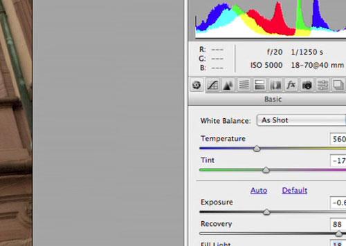 Photoshop CS5: Camera RAW