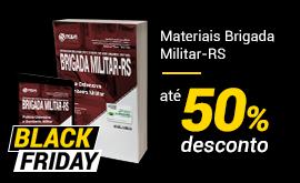 Brigada Militar-RS com até 50% OFF