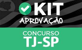 Kit Aprovação TJ-SP - Escrevente + Frete Grátis