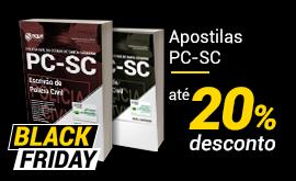 Aproveite a Black Friday e estude pra PC-SC!