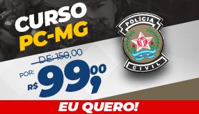 Desconto Especial PC-MG!