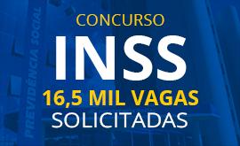 Concurso INSS: Mais de 16,5 mil vagas em 2018!
